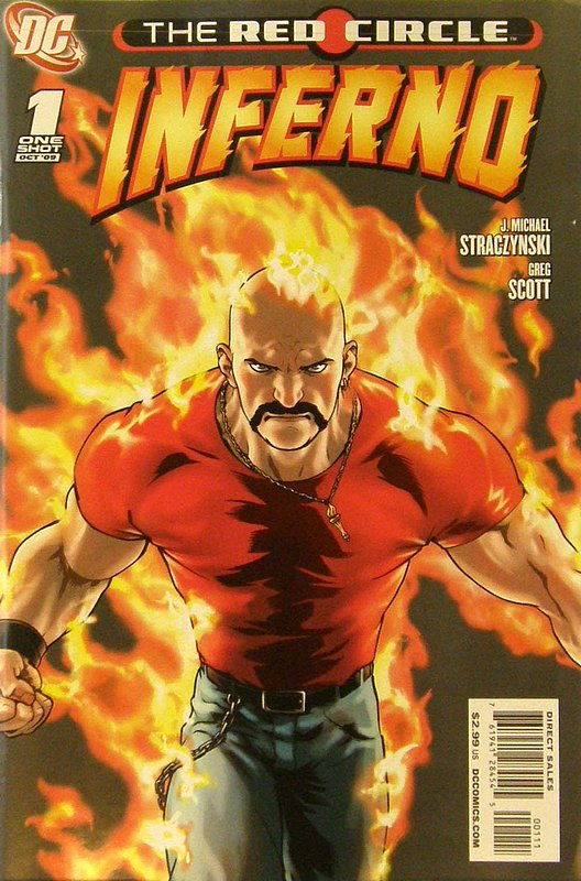 Cover of Red Circle: Inferno (2009 One Shot) #1. One of 250,000 Vintage American Comics on sale from Krypton!