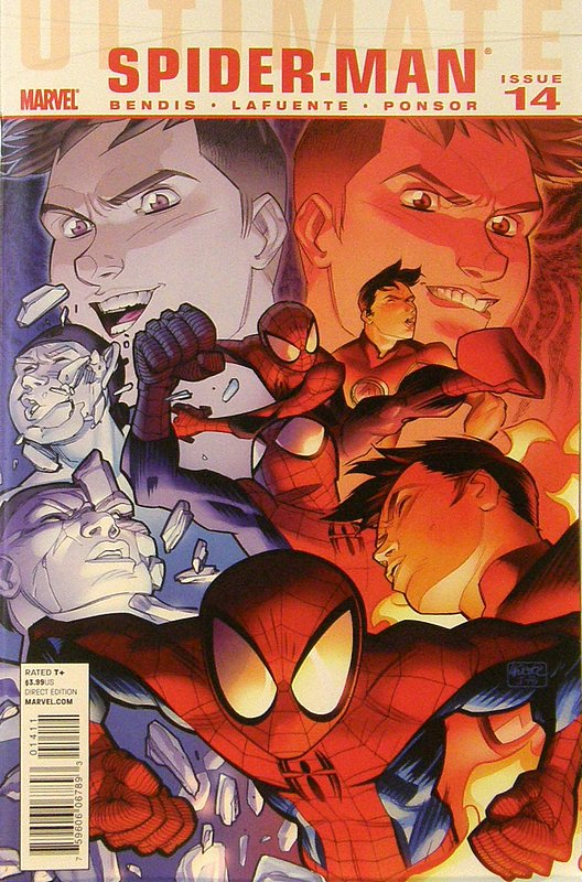 Cover of Ultimate Comics Spider-Man (Vol 1) #14. One of 250,000 Vintage American Comics on sale from Krypton!