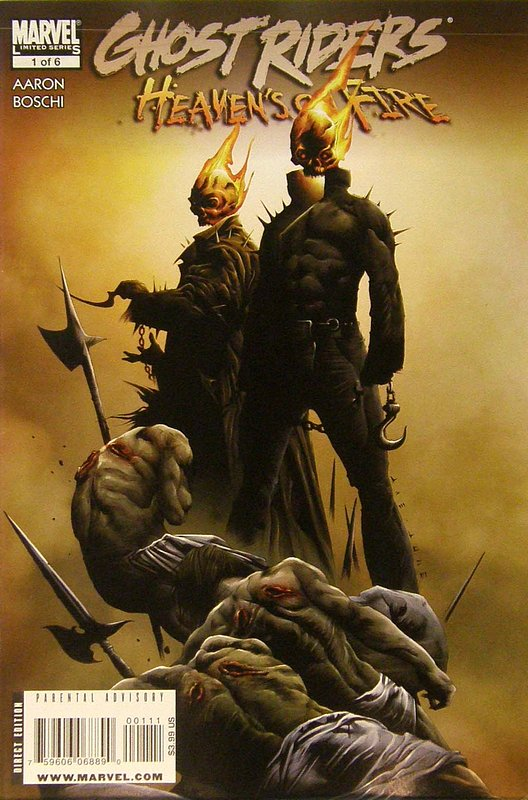 Cover of Ghost Riders: Heavens on Fire (2009 Ltd) #1. One of 250,000 Vintage American Comics on sale from Krypton!
