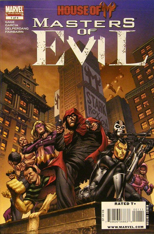 Cover of House of M: Masters of Evil (2009 Ltd) #1. One of 250,000 Vintage American Comics on sale from Krypton!