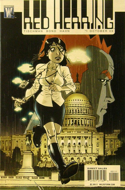 Cover of Red Herring (Vol 1) #1. One of 250,000 Vintage American Comics on sale from Krypton!