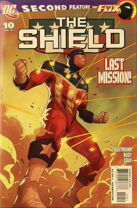 Cover of Shield (Vol 1) The (DC) #10. One of 250,000 Vintage American Comics on sale from Krypton!