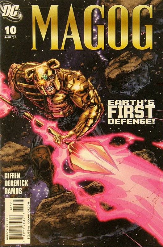 Cover of Magog (Vol 1) #10. One of 250,000 Vintage American Comics on sale from Krypton!