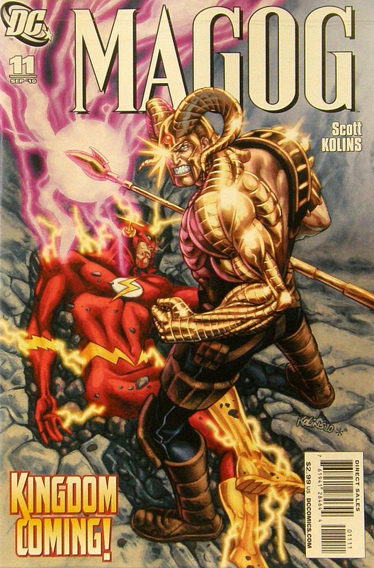 Cover of Magog (Vol 1) #11. One of 250,000 Vintage American Comics on sale from Krypton!