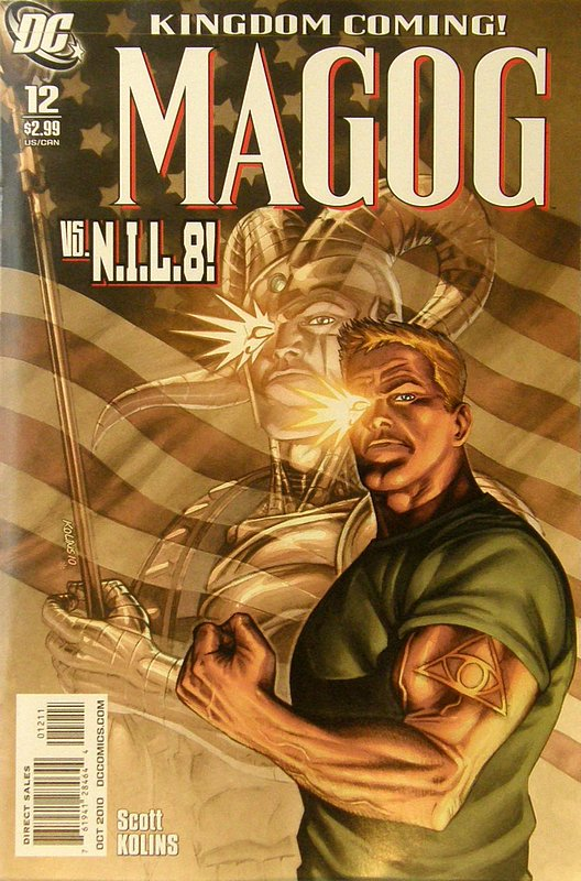 Cover of Magog (Vol 1) #12. One of 250,000 Vintage American Comics on sale from Krypton!
