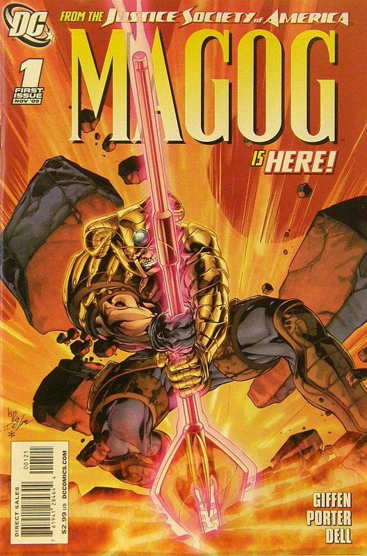 Cover of Magog (Vol 1) #1. One of 250,000 Vintage American Comics on sale from Krypton!