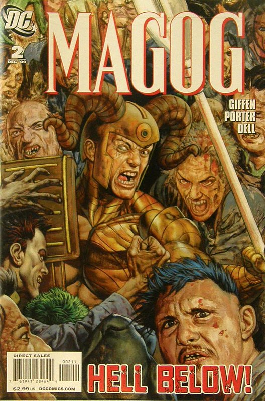 Cover of Magog (Vol 1) #2. One of 250,000 Vintage American Comics on sale from Krypton!