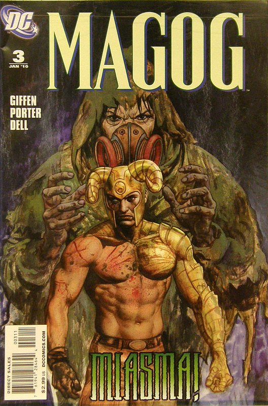 Cover of Magog (Vol 1) #3. One of 250,000 Vintage American Comics on sale from Krypton!