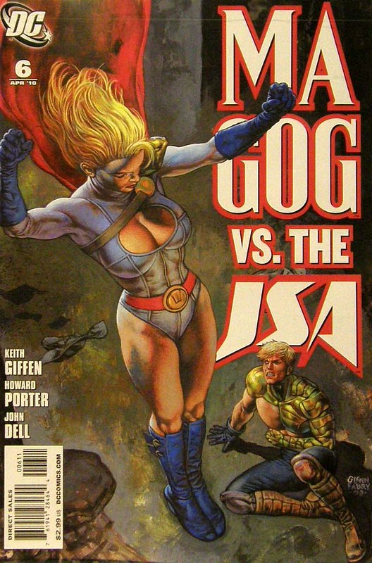 Cover of Magog (Vol 1) #6. One of 250,000 Vintage American Comics on sale from Krypton!