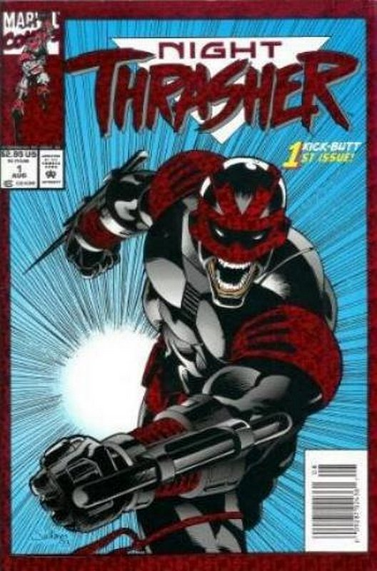 Cover of Night Thrasher (Vol 1) #1. One of 250,000 Vintage American Comics on sale from Krypton!