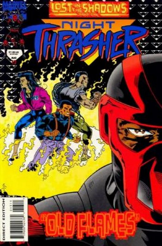 Cover of Night Thrasher (Vol 1) #13. One of 250,000 Vintage American Comics on sale from Krypton!