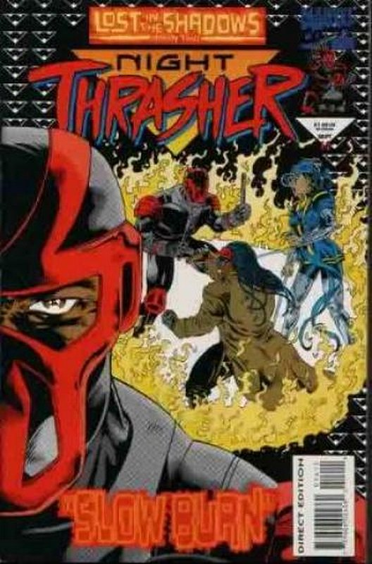Cover of Night Thrasher (Vol 1) #14. One of 250,000 Vintage American Comics on sale from Krypton!