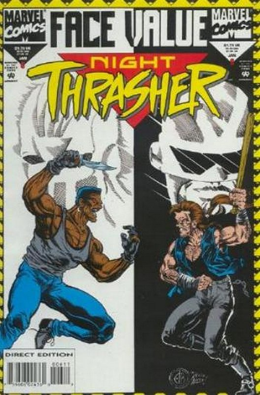 Cover of Night Thrasher (Vol 1) #6. One of 250,000 Vintage American Comics on sale from Krypton!