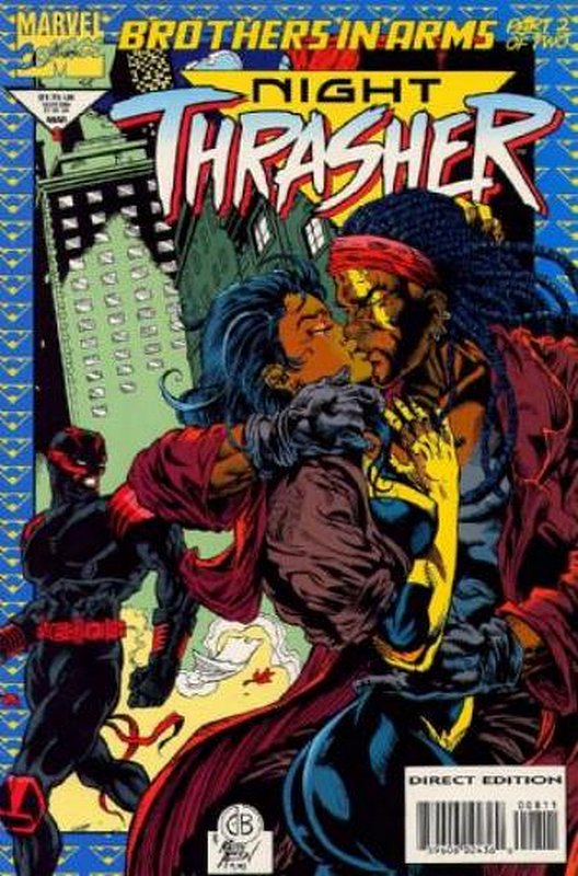 Cover of Night Thrasher (Vol 1) #8. One of 250,000 Vintage American Comics on sale from Krypton!