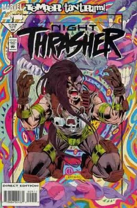 Cover of Night Thrasher (Vol 1) #9. One of 250,000 Vintage American Comics on sale from Krypton!