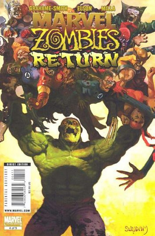 Cover of Marvel Zombies Return #4. One of 250,000 Vintage American Comics on sale from Krypton!