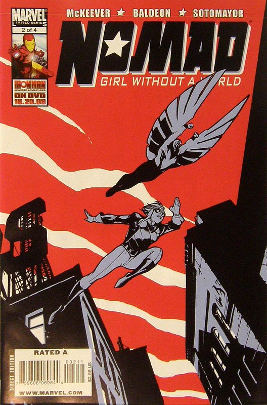 Cover of Nomad: Girl without a World (2009 Ltd) #2. One of 250,000 Vintage American Comics on sale from Krypton!