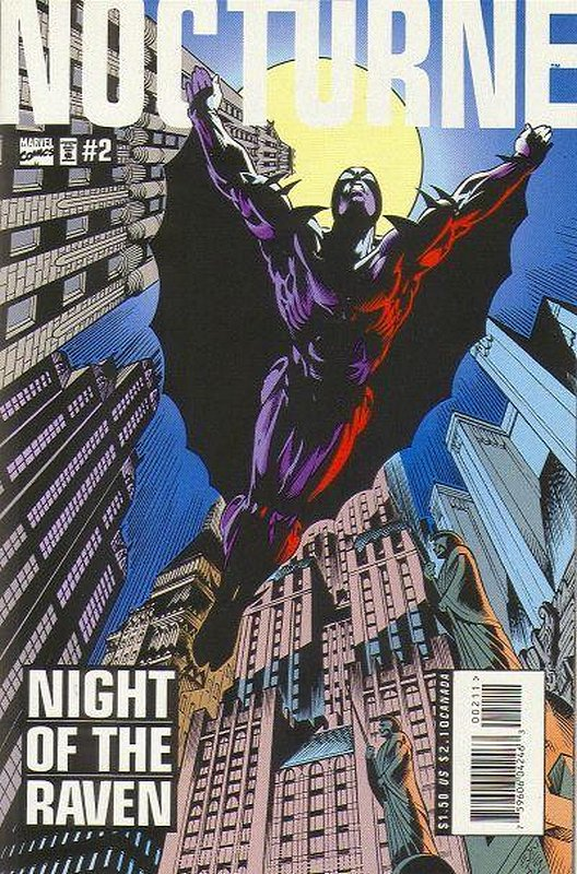 Cover of Nocturne (1995 Ltd) #2. One of 250,000 Vintage American Comics on sale from Krypton!