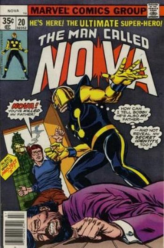 Cover of Nova (Vol 1) #20. One of 250,000 Vintage American Comics on sale from Krypton!
