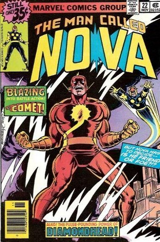 Cover of Nova (Vol 1) #22. One of 250,000 Vintage American Comics on sale from Krypton!