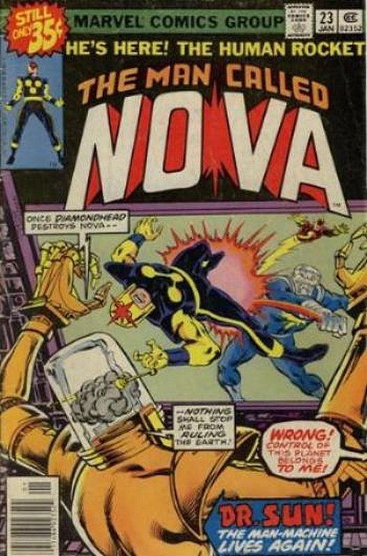 Cover of Nova (Vol 1) #23. One of 250,000 Vintage American Comics on sale from Krypton!