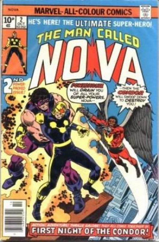 Cover of Nova (Vol 1) #2. One of 250,000 Vintage American Comics on sale from Krypton!