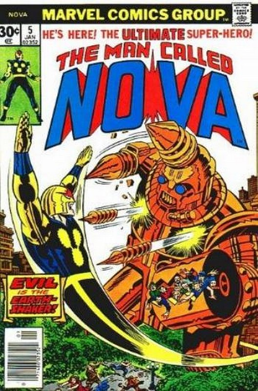 Cover of Nova (Vol 1) #5. One of 250,000 Vintage American Comics on sale from Krypton!