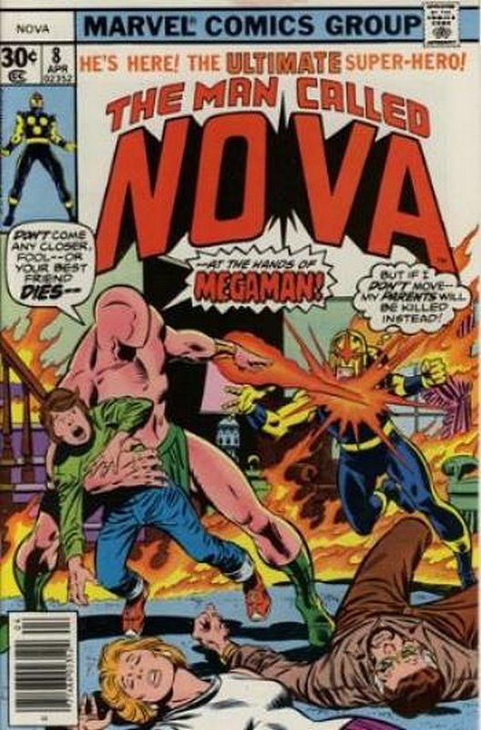 Cover of Nova (Vol 1) #8. One of 250,000 Vintage American Comics on sale from Krypton!