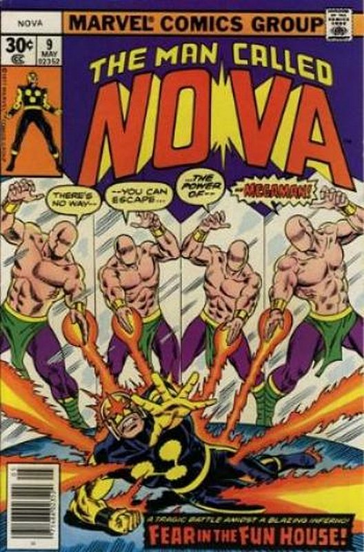 Cover of Nova (Vol 1) #9. One of 250,000 Vintage American Comics on sale from Krypton!