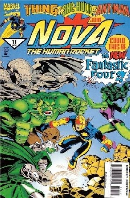 Cover of Nova (Vol 2) #11. One of 250,000 Vintage American Comics on sale from Krypton!