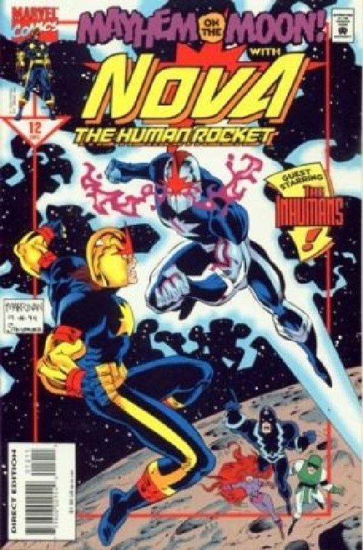 Cover of Nova (Vol 2) #12. One of 250,000 Vintage American Comics on sale from Krypton!