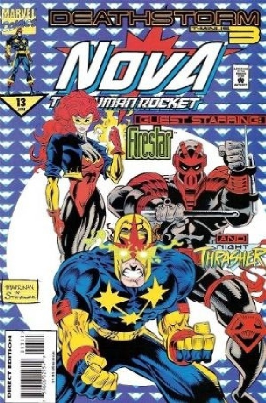 Cover of Nova (Vol 2) #13. One of 250,000 Vintage American Comics on sale from Krypton!