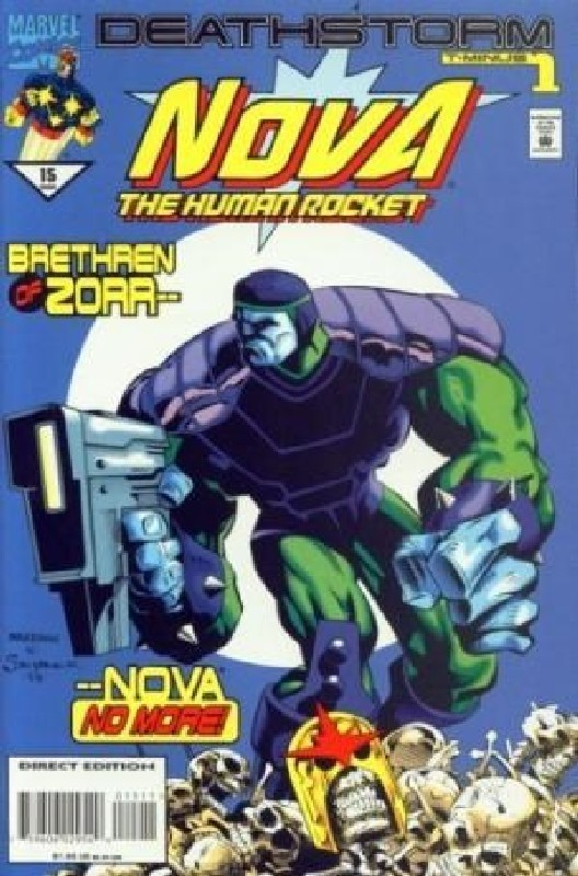 Cover of Nova (Vol 2) #15. One of 250,000 Vintage American Comics on sale from Krypton!