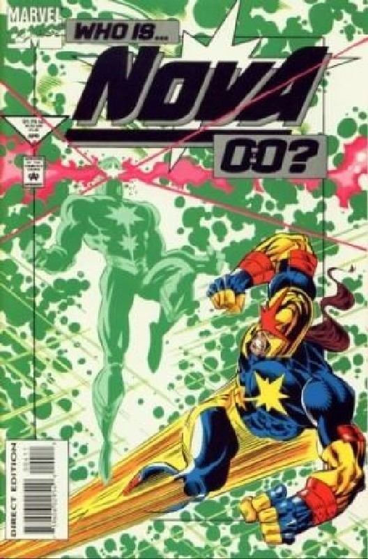 Cover of Nova (Vol 2) #4. One of 250,000 Vintage American Comics on sale from Krypton!