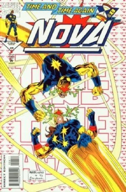 Cover of Nova (Vol 2) #6. One of 250,000 Vintage American Comics on sale from Krypton!