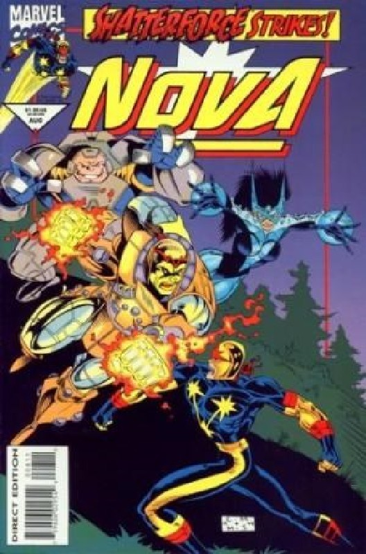 Cover of Nova (Vol 2) #8. One of 250,000 Vintage American Comics on sale from Krypton!