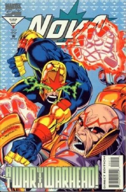 Cover of Nova (Vol 2) #9. One of 250,000 Vintage American Comics on sale from Krypton!