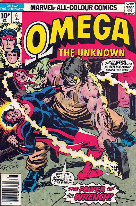 Cover of Omega The Unknown (Vol 1) #6. One of 250,000 Vintage American Comics on sale from Krypton!