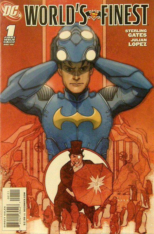 Cover of Worlds Finest (2009 Ltd) #1. One of 250,000 Vintage American Comics on sale from Krypton!