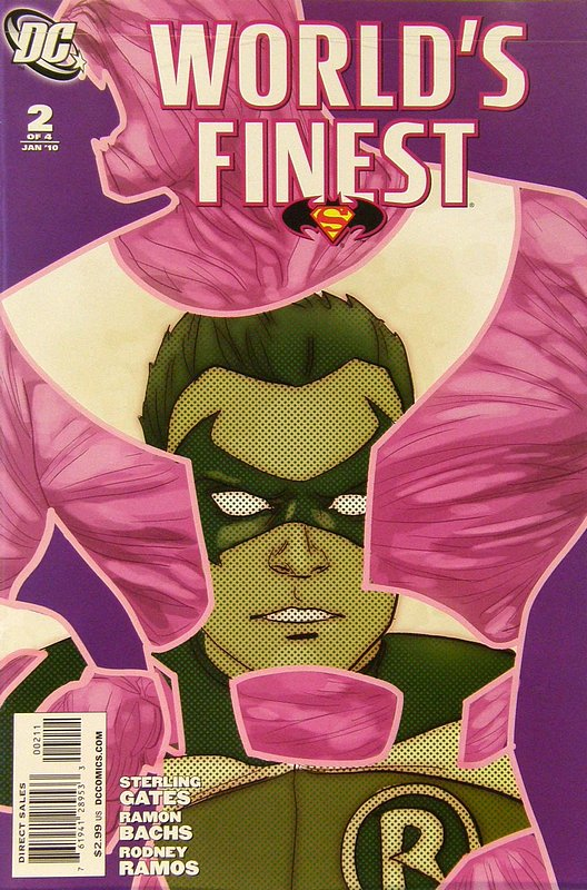 Cover of Worlds Finest (2009 Ltd) #2. One of 250,000 Vintage American Comics on sale from Krypton!