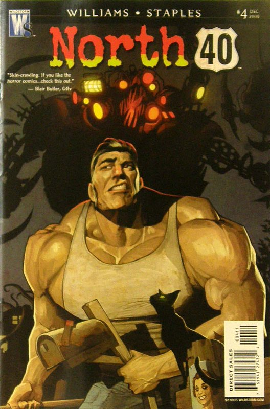 Cover of North 40 (2009 Ltd) #4. One of 250,000 Vintage American Comics on sale from Krypton!