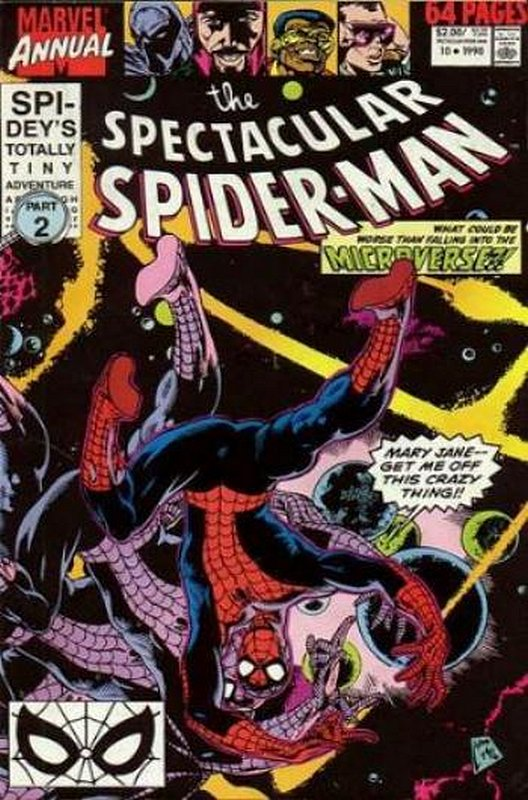 Cover of Spectacular Spider-Man Annual #10. One of 250,000 Vintage American Comics on sale from Krypton!