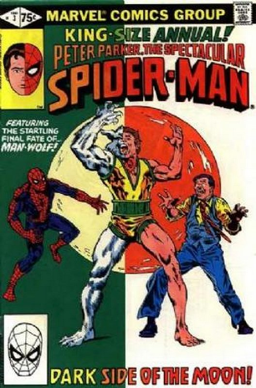 Cover of Spectacular Spider-Man Annual #3. One of 250,000 Vintage American Comics on sale from Krypton!