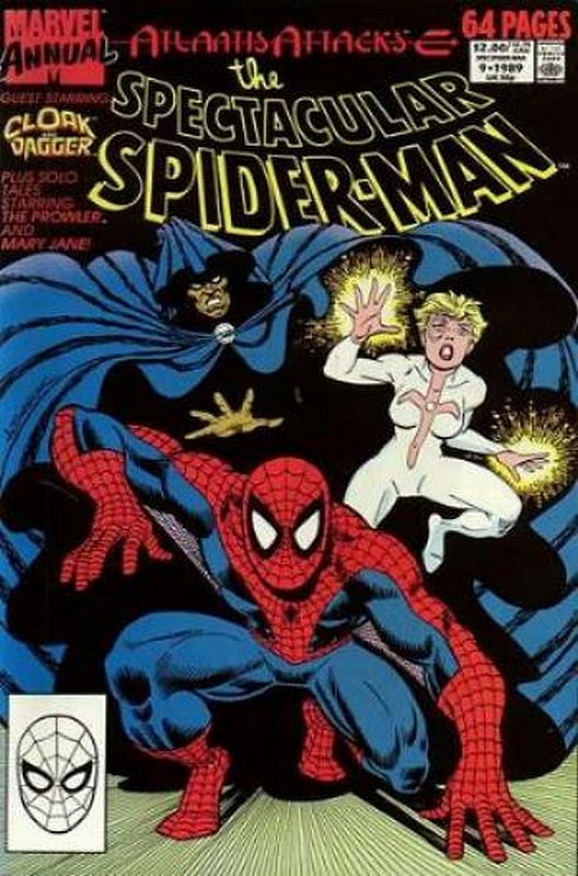 Cover of Spectacular Spider-Man Annual #9. One of 250,000 Vintage American Comics on sale from Krypton!