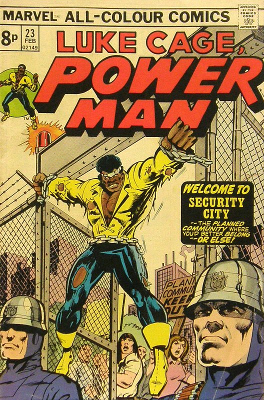 Cover of Powerman & Iron Fist (Vol 1) #23. One of 250,000 Vintage American Comics on sale from Krypton!