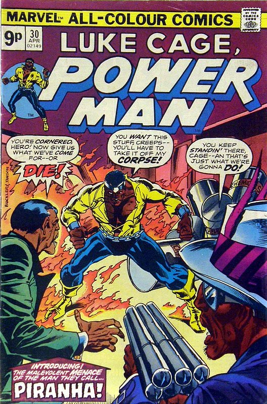 Cover of Powerman & Iron Fist (Vol 1) #30. One of 250,000 Vintage American Comics on sale from Krypton!