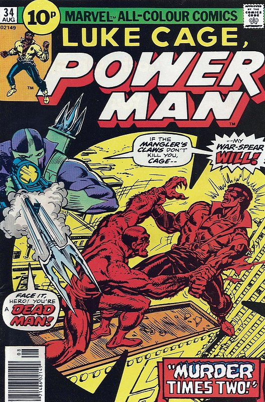 Cover of Powerman & Iron Fist (Vol 1) #34. One of 250,000 Vintage American Comics on sale from Krypton!