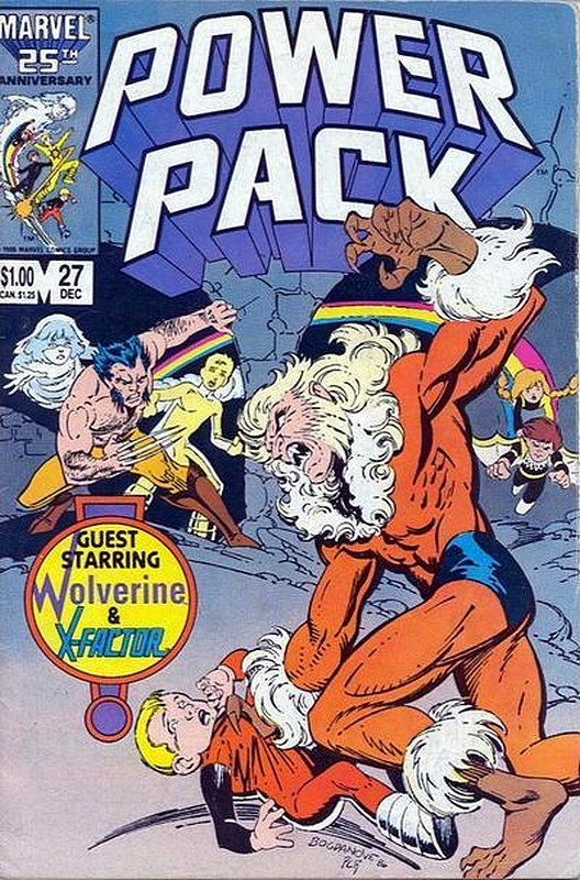 Cover of Power Pack (Vol 1) #27. One of 250,000 Vintage American Comics on sale from Krypton!