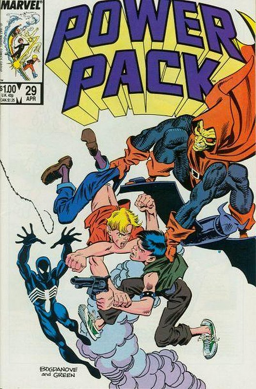 Cover of Power Pack (Vol 1) #29. One of 250,000 Vintage American Comics on sale from Krypton!