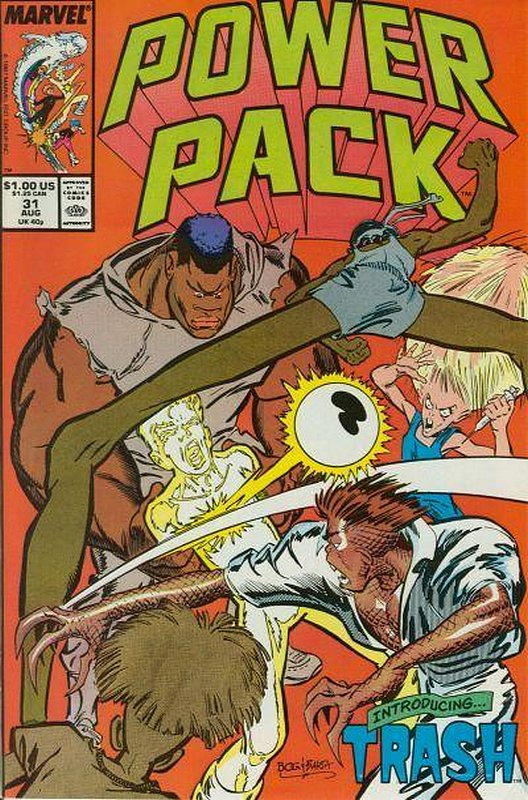 Cover of Power Pack (Vol 1) #31. One of 250,000 Vintage American Comics on sale from Krypton!